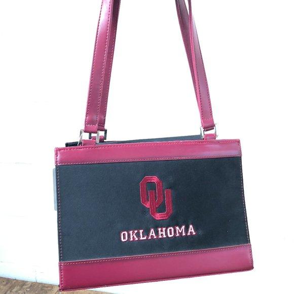Sandol Handbags - Oklahoma University Shoulder Bag - NWT